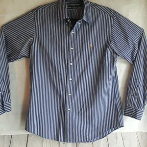 RALPH LAUREN MEN'S SHIRT LONG SLEEVE SIZE L